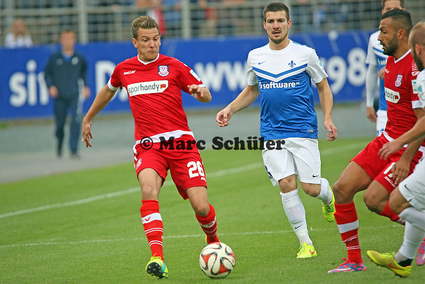 Denis Epstein (FSV) - SV Darmstadt 98 vs. FSV Frankfurt, Stadion am Boellenfalltor