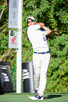 Ryo Ishikawa (JPN) watches his tee shot on 3 during round 1 of the Honda Classic, PGA National, Palm Beach Gardens, West Palm Beach, Florida, USA. 2/23/2017.<br /> Picture: Golffile | Ken Murray<br /> <br /> <br /> All photo usage must carry mandatory copyright credit (&copy; Golffile | Ken Murray)