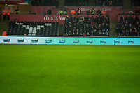 Advertising LED Boards  during the Premier League match between Swansea City and Crystal Palace at The Liberty Stadium, Swansea, Wales, UK. 23 December 2017
