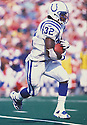 Indianapolis Colts, Edgerrin James (32)  during a game against the Buffalo Bills at Ralph Wilson Stadium in Buffalo, New York on October 1, 2000. The Colts beat the Bills 18-16. Edgerrin James player for 11 years with 3 different teams and was a 4-time Pro Bowler
