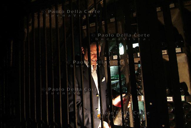 Schloss Johannisberg: Christian Witte il direttore dell'azienda in cantina<br /> &copy; Paolo della Corte