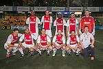 Ajax All Stars vs KCC Veterans during the HKFC Citi Soccer Sevens on 20 May 2016 in the Hong Kong Footbal Club, Hong Kong, China. Photo by Li Man Yuen / Power Sport Images