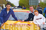 Dave Slattery (left) and Ger Sommers Killarney getting ready to compete in the Rally of the Lakes on Friday    Copyright Kerry's Eye 2008