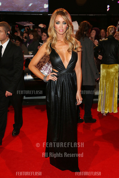 "Lauren Pope arriving for the ""The Twilight Saga: Breaking Dawn Part 2"" premiere at the Odeon Leicester Square, London. 14/11/2012 Picture by: Henry Harris / Featureflash"