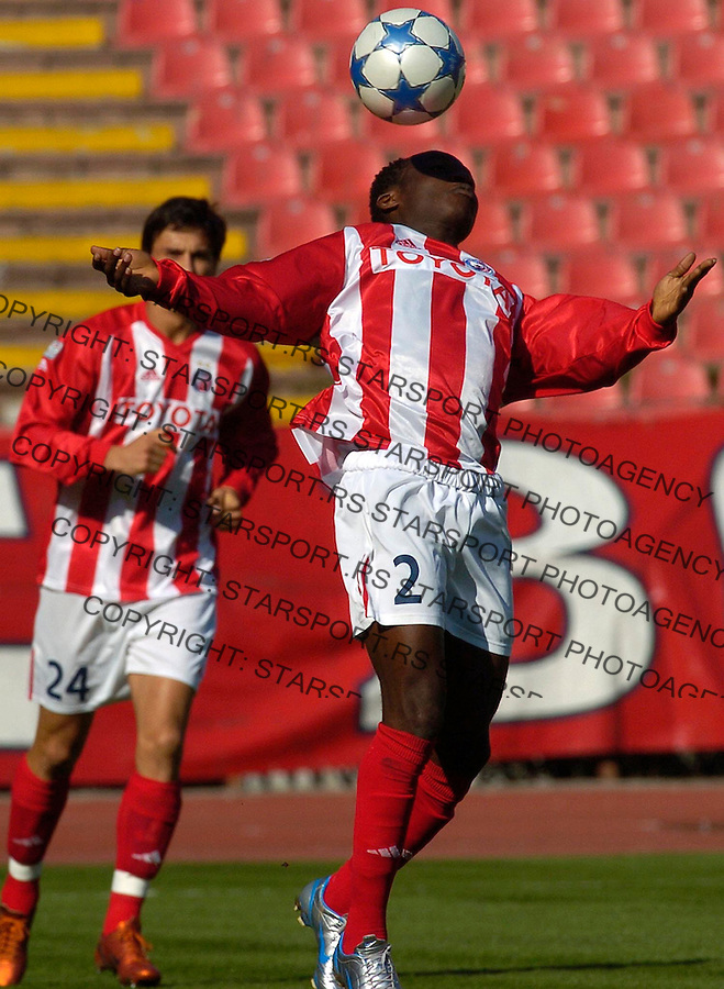 fudbal, kup SCG-a, SEZONA 2005/2006&amp;#xA;CRVENA ZVEZDA-MLADOST (PODGORICA)&amp;#xA;HAMANI DRAMAN&amp;#xA;BGD, 26.10.2005.&amp;#xA;FOTO: SRDJAN STEVANOVIC<br />