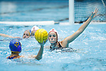INDIANAPOLIS, IN - MAY 14: Makenzie Fischer (11) of Stanford University defends during the Division I Women's Water Polo Championship against UCLA held at the IU Natatorium-IUPUI Campus on May 14, 2017 in Indianapolis, Indiana. (Photo by Joe Robbins/NCAA Photos/NCAA Photos via Getty Images)