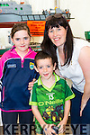 Lauren o'Connor with Mary and Christopher Moran Headford at the Toy Model show in the Torc Hotel on Sunday