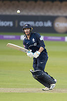 James Harris of Middlesex CCC pushes into the on side during Middlesex vs Lancashire, Royal London One-Day Cup Cricket at Lord's Cricket Ground on 10th May 2019
