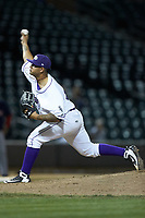 Winston-Salem Dash relief pitcher Jose Ruiz (36) in action against the Salem Red Sox at BB&T Ballpark on April 20, 2018 in Winston-Salem, North Carolina.  The Red Sox defeated the Dash 10-3.  (Brian Westerholt/Four Seam Images)