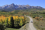 Sneffels Range in the San Juan Mountains, autumn, Colorado.