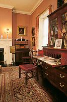 Gibson house interior, Beacon Hill, Boston, MA