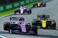 17th November 2019; Autodromo Jose Carlos Pace, Sao Paulo, Brazil; Formula One Brazil Grand Prix, Race Day; Lance Stroll (CDN) Racing Point F1 Team RP19 - Editorial Use