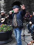 Phil Smith singing at the Music at the Gate. Photo:Colin Bell/pressphotos.ie
