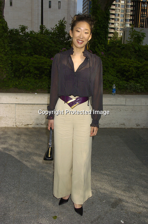 Sandra Oh ..at The ABC Upfront Announcement of Their Fall Schedule on May 17, 2005 at Lincoln Center...Photo by Robin Platzer, Twin Images