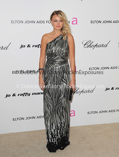 Malin Akerman at the 19th Annual Elton John AIDS Foundation Academy Awards Viewing Party held at The Pacific Design Center Outdoor Plaza in West Hollywood, California on August 27,2011                                                                               © 2011 DVS / Hollywood Press Agency