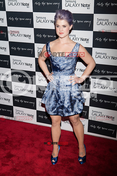 Kelly Osbourne attends the Samsung Galaxy Note 10.1 Launch Event in New York City, August 15, 2012. © Diego Corredor/MediaPunch Inc. /NortePhoto.com<br />