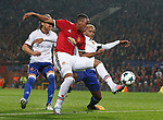 Anthony Martial of Manchester United has a chance during the Champions League Group A match at the Old Trafford Stadium, Manchester. Picture date: September 12th 2017. Picture credit should read: Andrew Yates/Sportimage