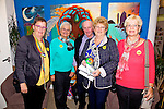 Pictured at Culture Night in Tech Amergin Waterville for the Songs & Music of the Iveragh Peninsula on Friday night were l-r; Judy Scott, Heide Vontilsit, Hugh Maguire, Chris Maguire & Kathy Battenfeld.