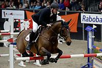 ZUIDBROEK - Paardensport, ICCH Zuidbroek, springen internationaal Grote Prijs , 05-01-2019, Robert Vos met Diabeau