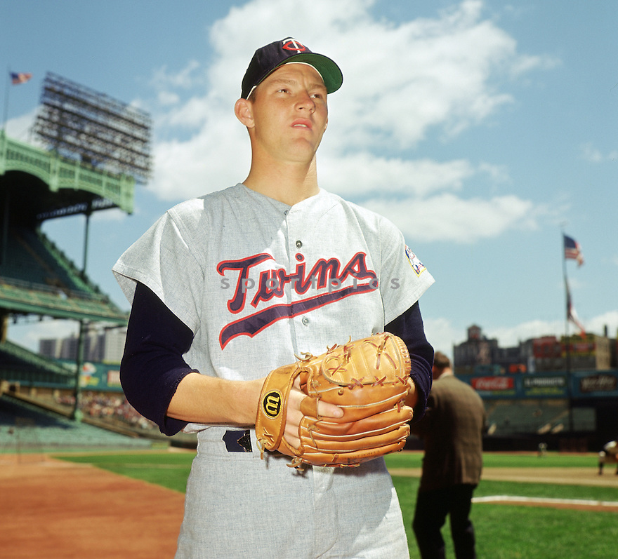 Minnesota Twins Jim Kaat (36) portrait before a game from his 1964 season against the New York Yankees at Yankee Stadium in the Bronx, New York.  Jim Kaat  played for 25 season with 5 different teams and was a 3-time All-Star.(SportPics)