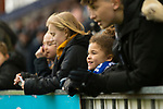 Young Stockport fans hope for a late winner. Stockport County v Barnet, 07032020. Edgeley Park, National League. Photo by Paul Thompson.