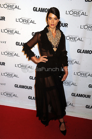 Crystal Renn attends Glamour's 25th Anniversary Women Of The Year Awards at Carnegie Hall   on November 9, 2015. Credit: Dennis Van Tine/MediaPunch