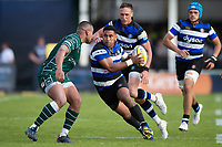 Cooper Vuna of Bath Rugby in possession. Aviva Premiership match, between Bath Rugby and London Irish on May 5, 2018 at the Recreation Ground in Bath, England. Photo by: Patrick Khachfe / Onside Images