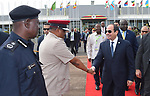 Egyptian President Abdel Fattah al-Sisi takes part in the summit of the Nile Basin countries in Entebbe in Uganda, on June 22, 2017. Photo by Egyptian President Office