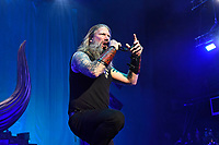 LONDON, ENGLAND - NOVEMBER 30: Johan Hegg of 'Amon Amarth' performing at Brixton Academy on November 30, 2019 in London, England.<br /> CAP/MAR<br /> ©MAR/Capital Pictures