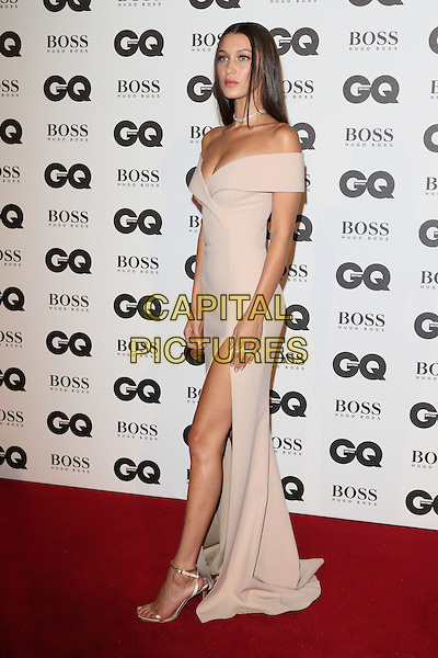 Bella Hadid at the GQ Men of the Year Awards 2016 - in association with Hugo Boss -  Tate Modern, Bankside, London on 6th September 2016<br /> CAP/ROS<br /> &copy;ROS/Capital Pictures