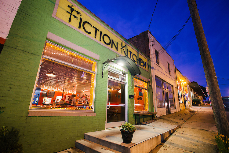 Raleigh, North Carolina - Thursday November 12, 2015 - Fiction Kitchen is at 428 S. Dawson St. in Raleigh, NC.