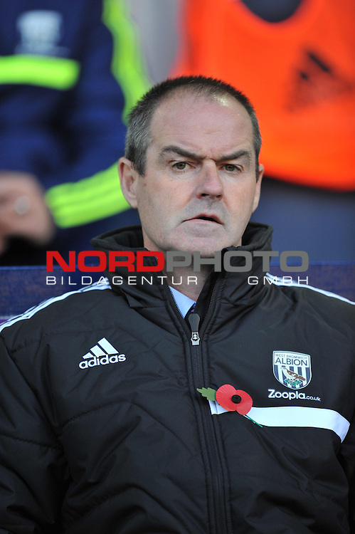 West Bromwich Albion Manager, Steve Clarke - 02/11/2013 - SPORT - FOOTBALL - The Hawthorns - West Bromwich - West Bromwich Albion v Crystal Palace - Barclays Premier League<br /> Foto nph / Meredith<br /> <br /> ***** OUT OF UK *****