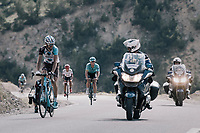 La Gendarmerie racing alongside up the Col d'Izoard (HC/2360m/14.1km/7.3%)<br /> <br /> 104th Tour de France 2017<br /> Stage 18 - Briancon › Izoard (178km)