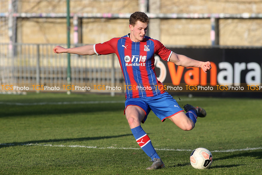 Lewis Hobbs of Crystal Palace U23's during Crystal Palace Under-23 vs Burnley Under-23, Premier League Cup Football at Champion Hill Stadium on 6th February 2020
