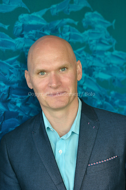 Anthony Doerr, American writer in 2015.