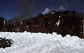 C&amp;TS rotary snowplow #OY and train on Cumbres Pass.<br /> C&amp;TS  Cumbres Pass, CO