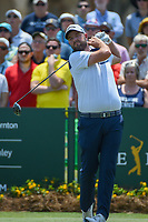 Marc Leishman (AUS) watches his tee shot on 1 during round 1 of The Players Championship, TPC Sawgrass, at Ponte Vedra, Florida, USA. 5/10/2018.<br /> Picture: Golffile | Ken Murray<br /> <br /> <br /> All photo usage must carry mandatory copyright credit (&copy; Golffile | Ken Murray)