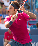 Roger Federer (SUI) defeats Andy Murray (GBR)  6-4, 7-6