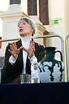 Anne Tyler at the Sheldonian Theatre during the Sunday Times Oxford Literary Festival, UK, 24 March - 1 April 2012. ..PHOTO COPYRIGHT GRAHAM HARRISON .graham@grahamharrison.com.+44 (0) 7974 357 117.Moral rights asserted.