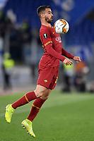 Leonardo Spinazzola of AS Roma <br /> Roma 20-02-2020 Stadio Olimpico <br /> Football Europa League 2019/2020 Round of 32 first leg <br /> AS Roma -  Kaa Gent <br /> Photo Andrea Staccioli / Insidefoto