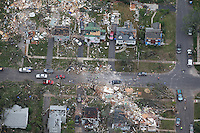 Tornado aftermath, Springfield, MA.