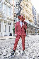 NOVA YORK (EUA) 26.08.2019 - CELEBRIDADE-EUA - Bruno Rocha, conhecido pelo nome artístico Hugo Gloss momento antes do VMA (MTV Video Music Awards ) na cidade de Nova York nesta segunda-feira, 26. (Foto: Vanessa Carvalho/Brazil Photo Press)