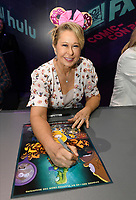 FOX FAN FAIR AT SAN DIEGO COMIC-CON© 2019: THE SIMPSONS Cast Member Yeardley Smith during the THE SIMPSONS booth signing on Saturday, July 20 at the FOX FAN FAIR AT SAN DIEGO COMIC-CON© 2019. CR: Alan Hess/FOX © 2019 FOX MEDIA LLC