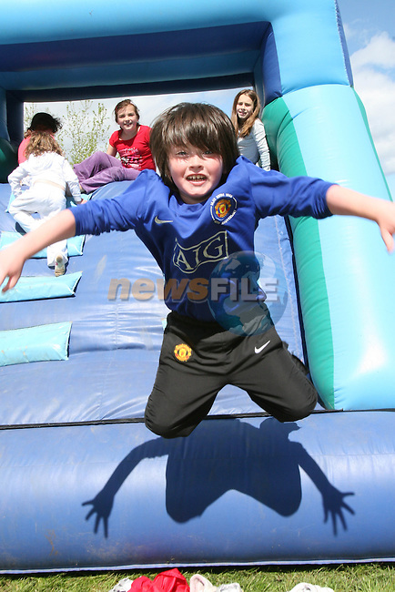 Liam Woods at the Fundraising BBQ in Termonfeckin National School...Photo NEWSFILE/Jenny Matthews.(Photo credit should read Jenny Matthews/NEWSFILE)....This Picture has been sent you under the condtions enclosed by:.Newsfile Ltd..The Studio,.Millmount Abbey,.Drogheda,.Co Meath..Ireland..Tel: +353(0)41-9871240.Fax: +353(0)41-9871260.GSM: +353(0)86-2500958.email: pictures@newsfile.ie.www.newsfile.ie.FTP: 193.120.102.198.