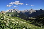 Mt Marmolada,Dolomites, northern Italy, Europe.