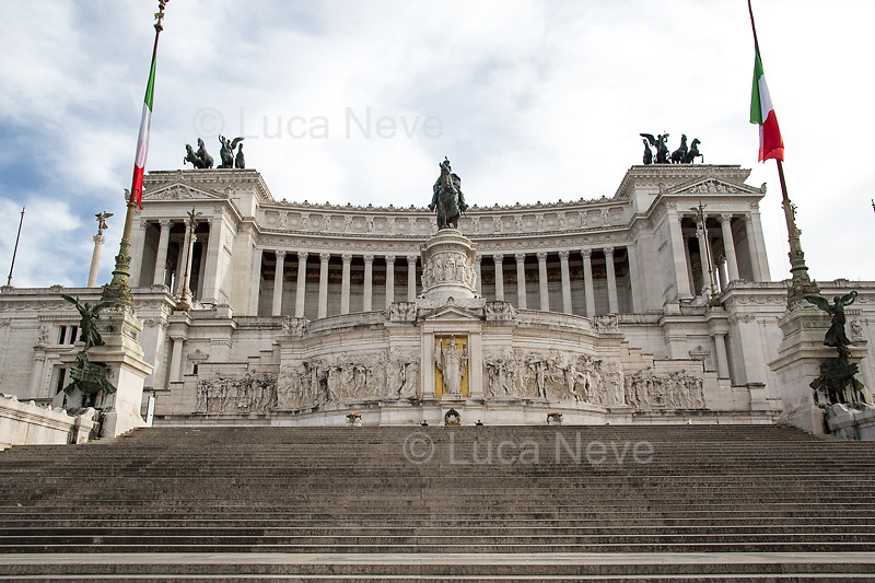 Altare della Patria - Vittoriano.<br />