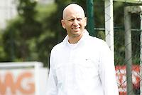 SAO PAULO, 04 DE FEVEREIRO, 2013  - TREINO PALMEIRAS - O elenco do palmeiras durante treino na Academia de Futebol, na tarde dessa segunda-feira(04), zona oeste de capital. A equipe se prepara para enfrentar o Atlético Sorocaba na próxima quinta-feira(7), jogo válido pela 6ª rodada do paulistão - FOTO: LOLA OLIVEIRA - BRAZIL PHOTO PRESS