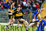 Kieran O'Leary Dr Crokes scores a goal against  Kenmare District in the Senior County Football Championship final at Fitzgerald Stadium on Sunday.