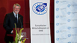 Brussels - Belgium, June 27, 2012 -- Handover ceremony of the European Taxpayers' Award (TAE Taxpayers Association of Europe) in cooperation with the European Economic Senate (EES; EWS Europaeischer Wirtschaftssenat e.V.); here, Rolf von HOHENHAU, President of TAE, introducing the award -- Photo: © HorstWagner.eu