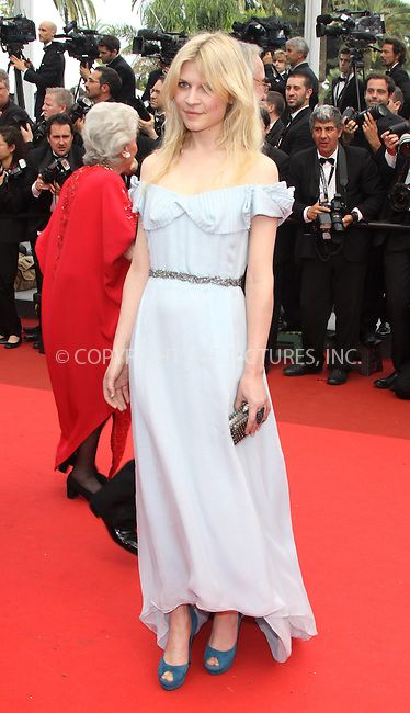"WWW.ACEPIXS.COM . . . . .  ..... . . . . US SALES ONLY . . . . .....May 14 2011, Cannes....Clemence Poesy at the premiere of ""Pirates Of The Carribean: On Stranger Tides"" at the Cannes Film Festival on May 14 2011 in Cannes, France....Please byline: FAMOUS-ACE PICTURES... . . . .  ....Ace Pictures, Inc:  ..Tel: (212) 243-8787..e-mail: info@acepixs.com..web: http://www.acepixs.com"